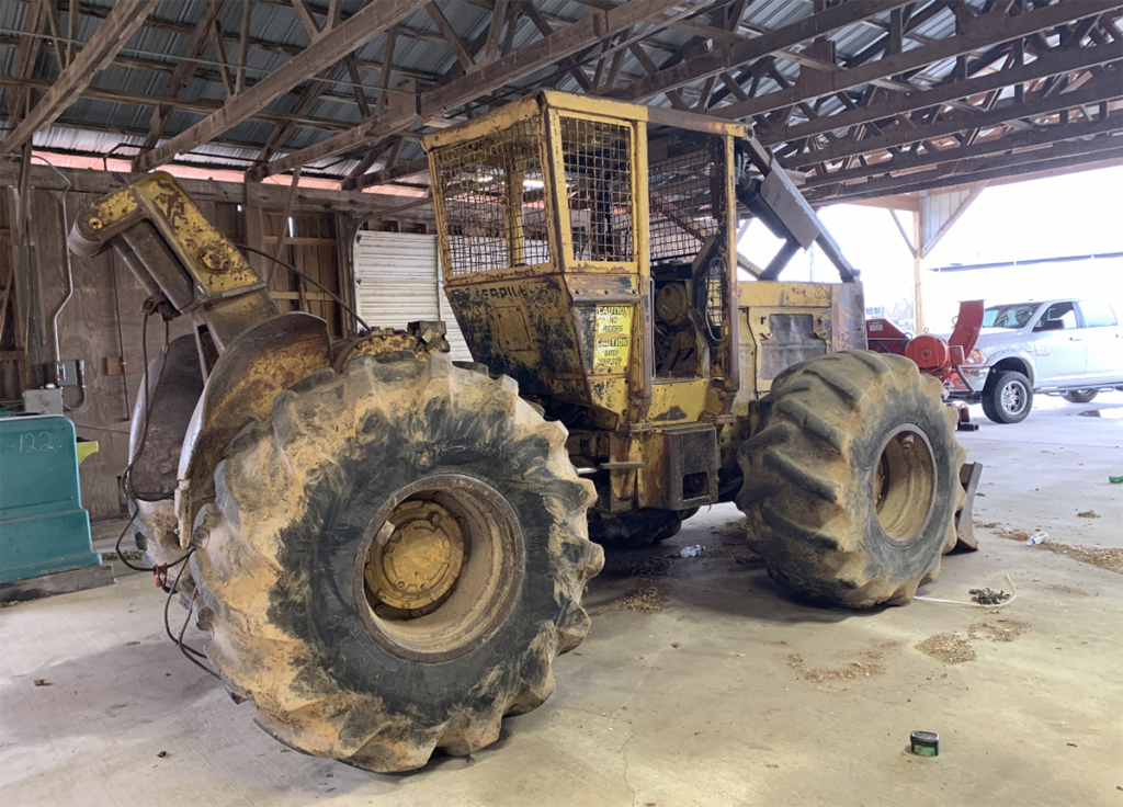 318 cat cable skidder $22,500.00